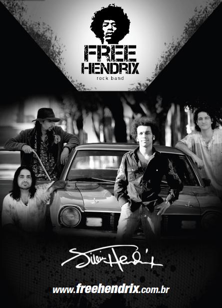 poster banda free hendrix