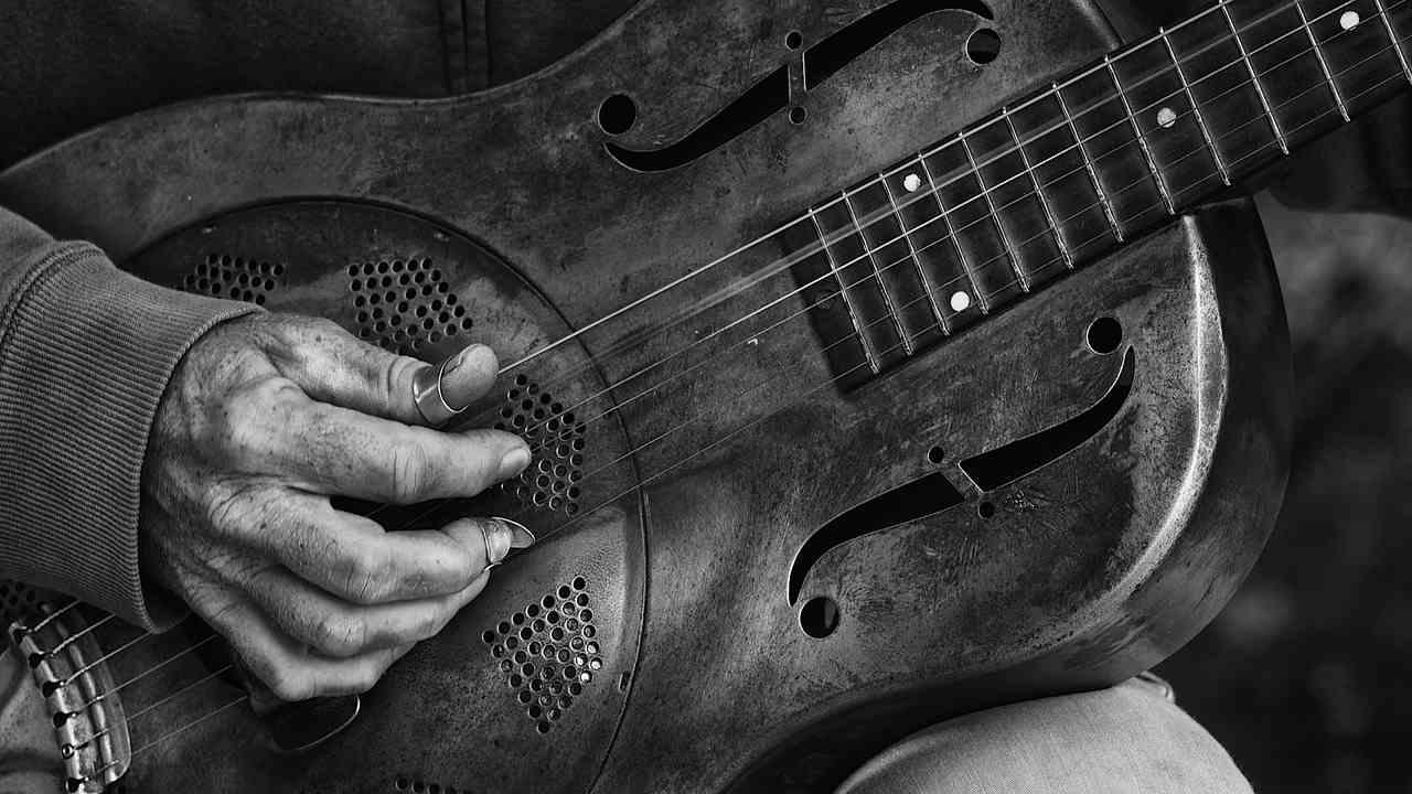 blues countr guitar